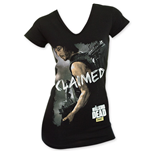 The WALKING DEAD Women's Claimed Black Tee Shirt