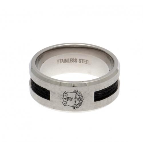 Everton F.C. Black Inlay Ring Small