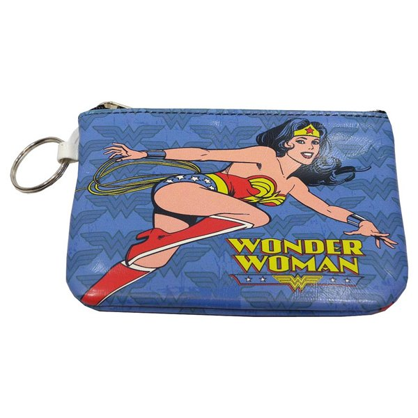 Wonder Woman Blue Keyring Purse