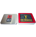 Muhammad Ali Grey Marl Wallet with TIN