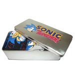 Sonic the Hedgehog 3 pack socks IN TIN