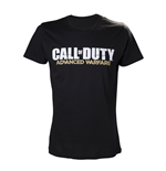 CALL OF DUTY Advanced Warfare Extra Large T-Shirt with Main Logo, Black