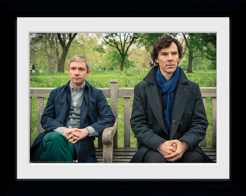 Sherlock Park Bench Collector Print