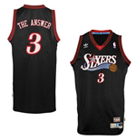 adidas Allen Iverson Philadelphia 76ers The Answer Soul Swingman Nickname Jersey