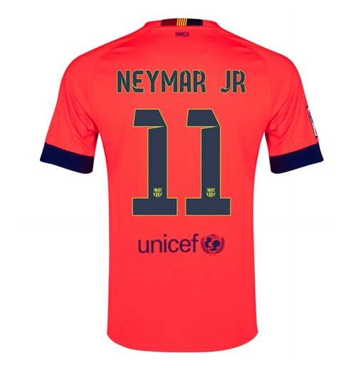 Buy Official 2014-15 Barcelona Away Shirt (Neymar JR 11) - Kids be5b86037