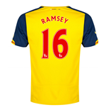 2014-15 Arsenal Away Shirt (Ramsey 16) - Kids