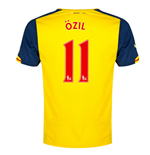 2014-15 Arsenal Away Shirt (Ozil 11)