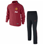 2014-15 Man Utd Nike Woven Tracksuit (Red) - Kids