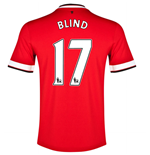 2014-15 Manchester United Home Shirt (Blind 17) - Kids