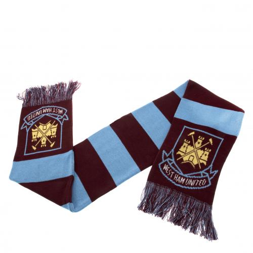 West Ham United F.C. Bar Scarf JQ