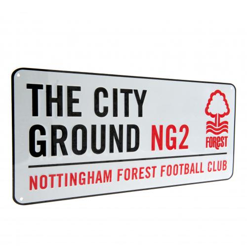 Nottingham Forest F.C. Street Sign