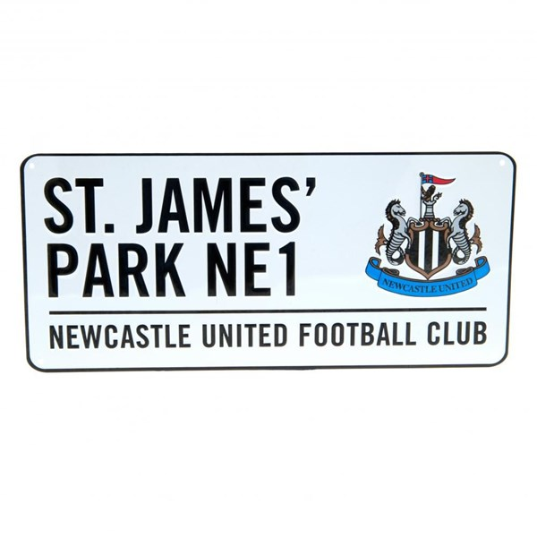 Newcastle United F.C. Street Sign