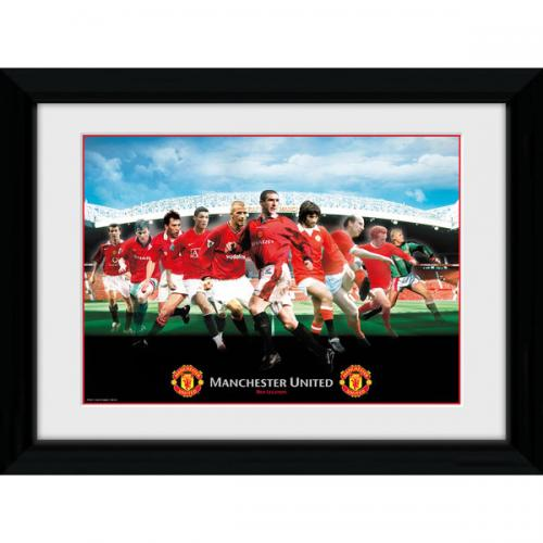 Manchester United F.C. Picture Legends 16 x 12
