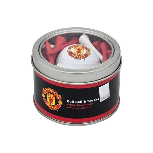 Manchester United F.C. Ball and Tee Set