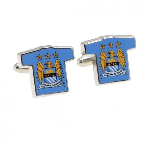 Manchester City F.C. Cufflinks Shirt