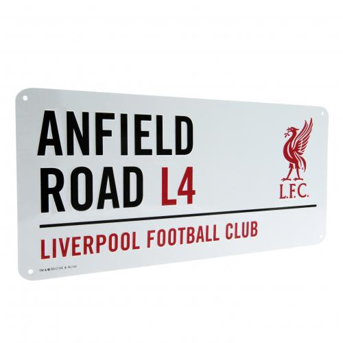 Official Liverpool F C Street Sign Lb Buy Online On Offer