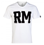 2014-15 Real Madrid Adidas Graphic Tee (White)