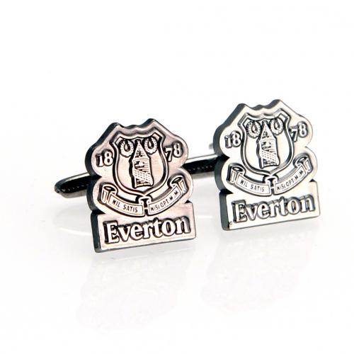 Everton F.C. Cufflinks Chrome