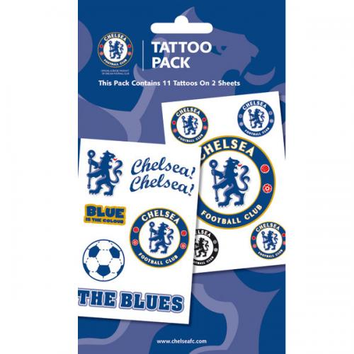 Chelsea F.C. Tattoo Pack