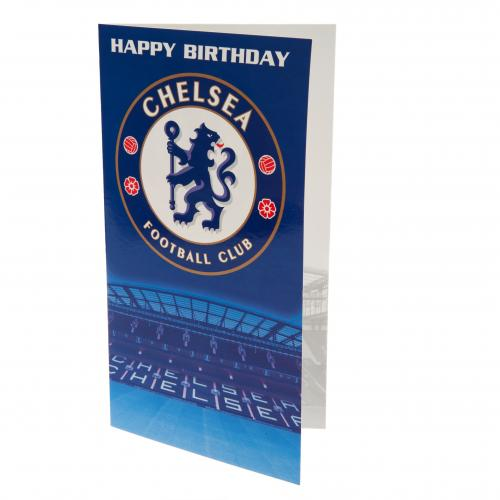 Chelsea F.C. Birthday Card