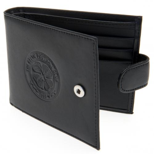 Celtic F.C. Embossed Leather Wallet 805