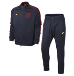2014-2015 Barcelona Nike N98 Covert Warmup Tracksuit (Navy)