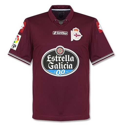 2014-2015 Deportivo La Coruna Lotto 3rd Football Shirt
