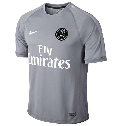 wholesale dealer dc2e1 14326 2014-2015 PSG Nike Select Training Shirt (Grey)