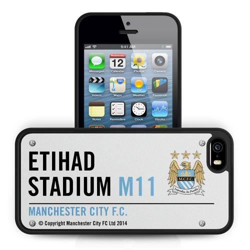 Manchester City F.C. iPhone 5 / 5S Hard Case 3D SS