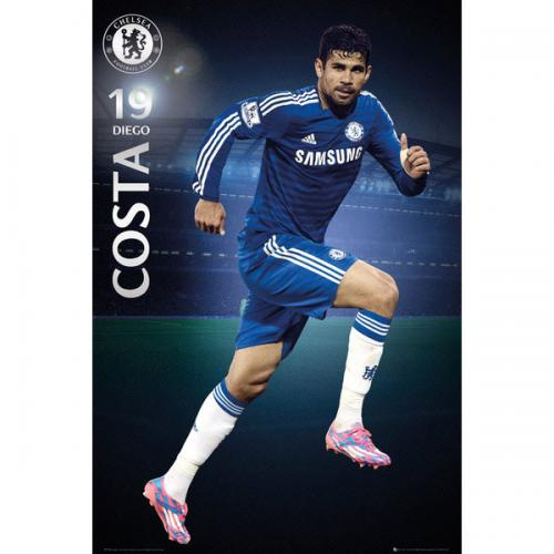 Chelsea F.C. Poster Diego Costa 58