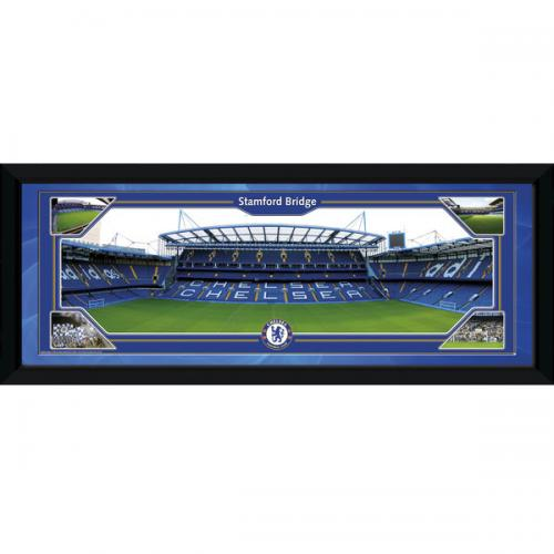 Chelsea F.C. Picture Stamford Bridge 30 x 12
