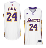 Mens Los Angeles Lakers Kobe Bryant adidas White New Swingman Alternate Jersey
