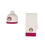 Violetta Scarf and Cap Set 124560