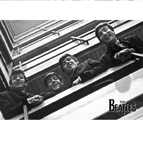 Beatles Poster rolled up