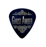"Fender ""Heavy"" Guitar Pick - Ghost Amber"