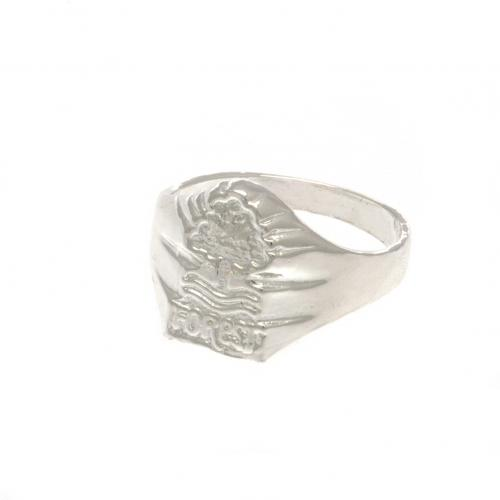 Nottingham Forest F.C. Silver Plated Crest Ring Medium