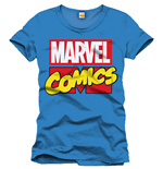 Marvel Comics T-Shirt Marvel Logo cobalt