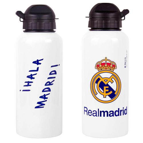 Real Madrid F.C. Alluminium Drinks Bottle WHT