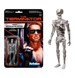 Terminator ReAction Action Figure Chrome T-800 Endoskeleton 10 cm