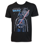 STAR WARS Men's Sixteen Bit Darth Vader Tee Shirt