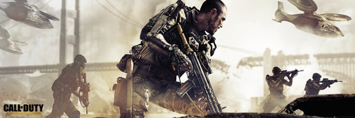 Call of Duty Advanced Warfare Cover Door Poster