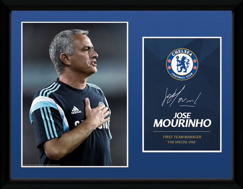 Chelsea Mourinho 14/15 Framed Collector Print