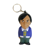 The Big Bang Theory Key-Chain with Anti-Stress Figure Rajesh 8 cm