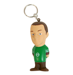 The Big Bang Theory Key-Chain with Anti-Stress Figure Sheldon 8 cm