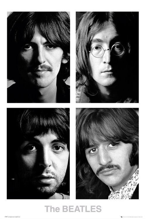 The Beatles White Album Maxi Poster