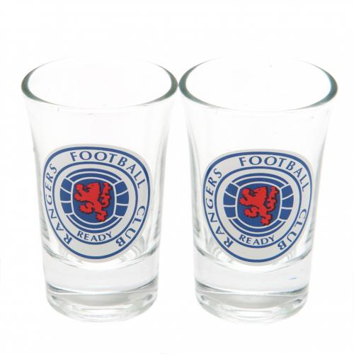 Rangers F.C. 2pk Shot Glass Set