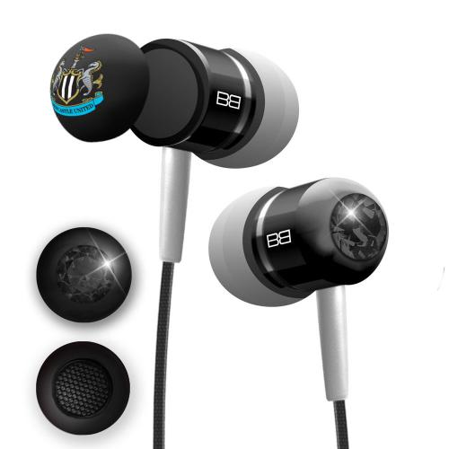 Newcastle United F.C. BassBuds Luxury Headphones