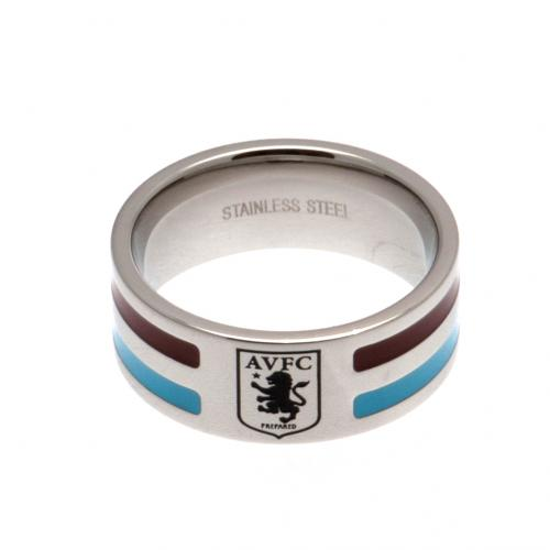 Aston Villa F.C. Colour Stripe Ring Medium
