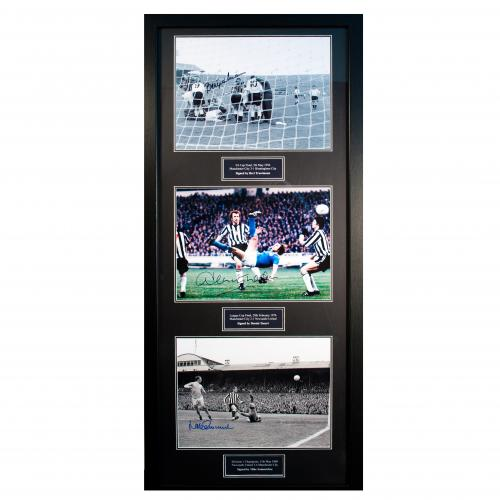 Manchester City F.C. Treble Legends Signed Framed Prints