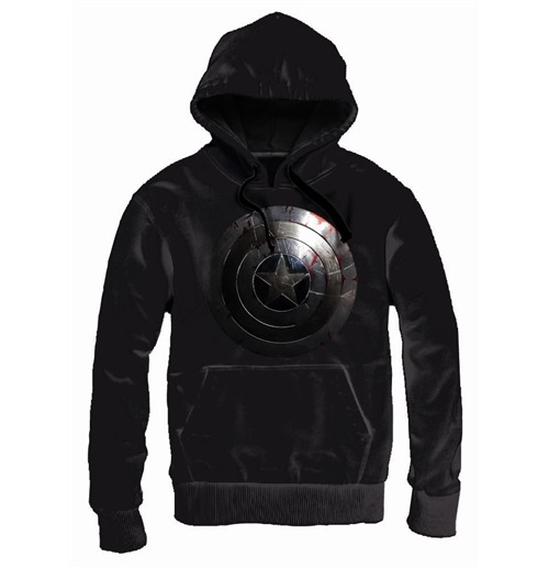 Tv movies captain america captain america hooded sweater shield metal